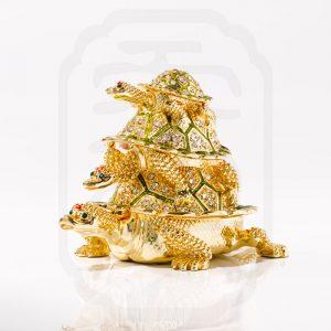 bejewelled-three-tier-tortoise-statue-2
