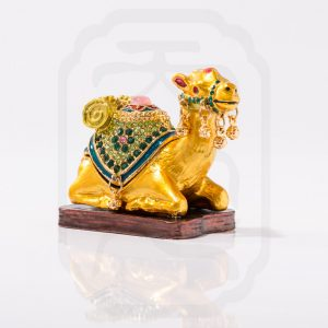 Bejewelled Camel Statue-